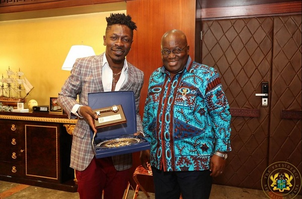 "Shatta Wale Hints Of Dropping A Song For Akofu-Addo Tittled ""Nana Ppaper"""