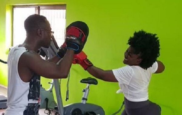 Okyeame Kwame And Wife Wow Social Media With Love-Making Boxing Moves