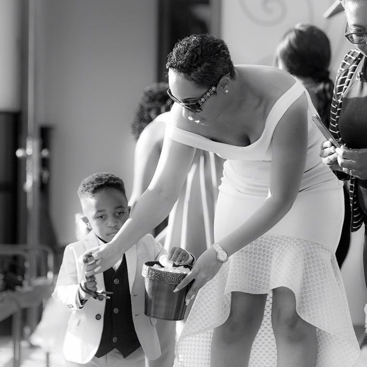You've Got To See This Beautiful Photo Of Pokello And Her Adorable Son