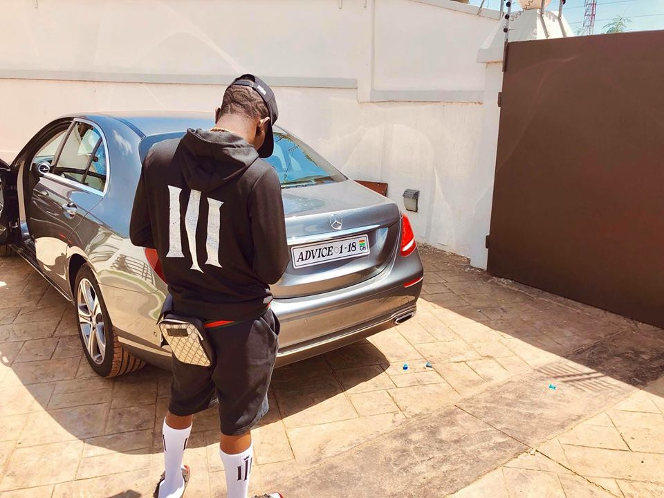 PHOTOS: Shatta Wale SPOILS Himself With A Brand New 'Toy', Sends Sarkodie A Cryptic Message