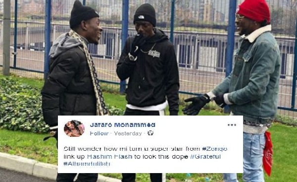 Addi Self Claims Superstar After Going To London For The First Time