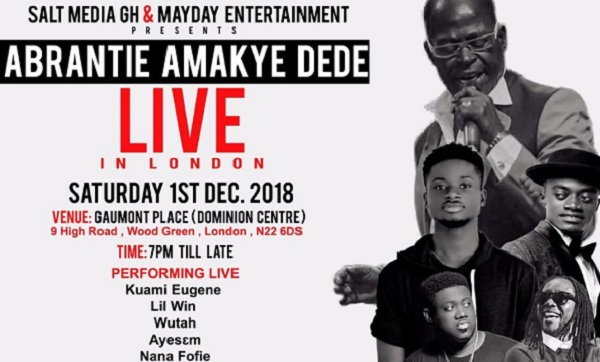 Lil Win Set To Storm UK With Amakye Dede
