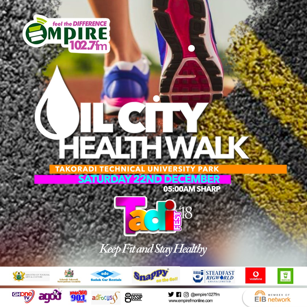 Oil City Health Walk: Keep Fit And Stay Healthy