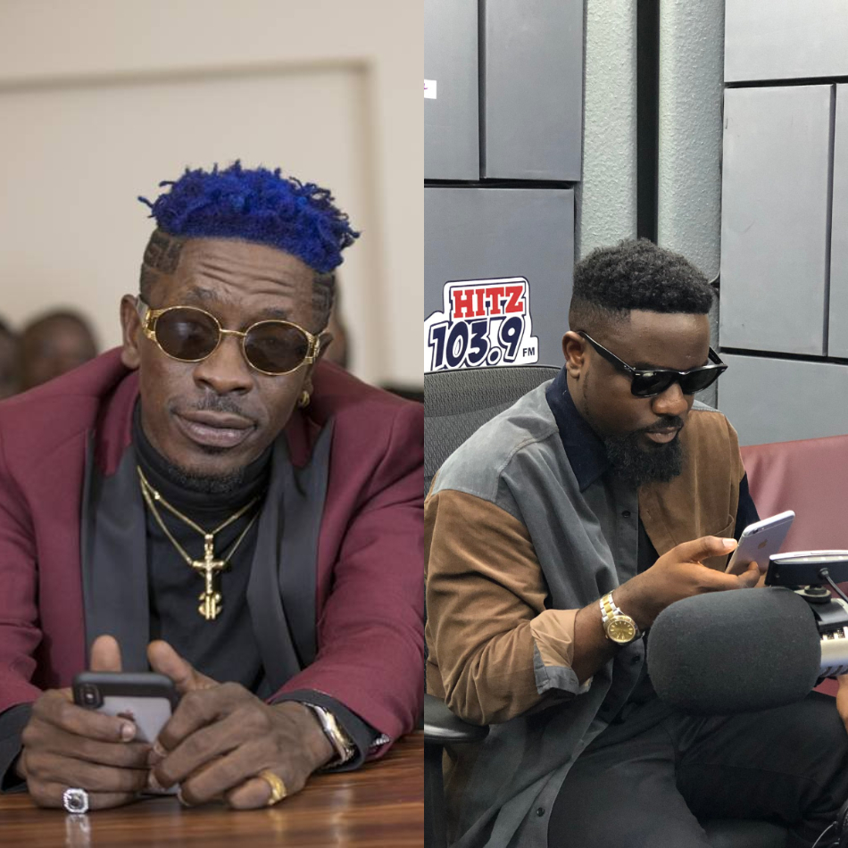 Foolish boy who are you to advice the president shatta wale jabs sarkodie
