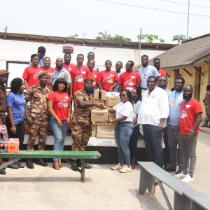 Valentine's Day: CEO Of Focus 1 Group, Kwame Adu-Mante shows love to Sekondi Prison inmates For The Ninth Time