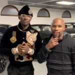 Floyd Mayweather Flaunts His Impressive Garage To Ghanaian Business Man, Nana Kwame Bediako (+Video)
