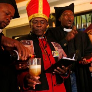 Meet The Pastor Who Allows Members To Drink Alcohol In Church, Says He Will Write His Own Own Bible Soon