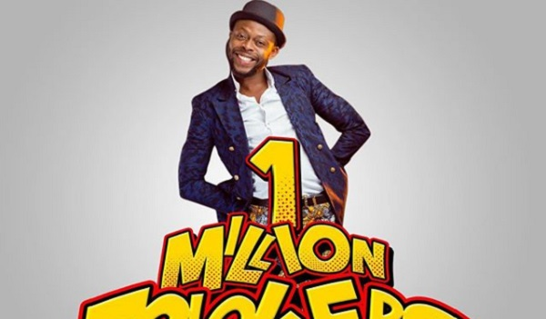 Kalybos Becomes First Ghanaian Comedian With 1 Million Instagram Followers
