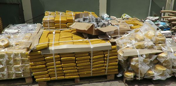 NACOB intercepts weed slabs at Tema Port
