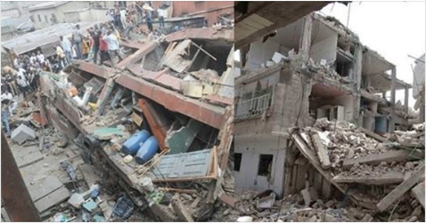 Image result for Pregnant Woman, proprietor, pupils among those who died in Lagos collapsed building.