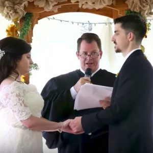 VIDEO: Woman Asks Judge Who Sentenced Her To Prison To Officiate Her Wedding