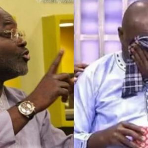 Watch The Moment Ken Agyapong Cried As He Kicked Away Politics