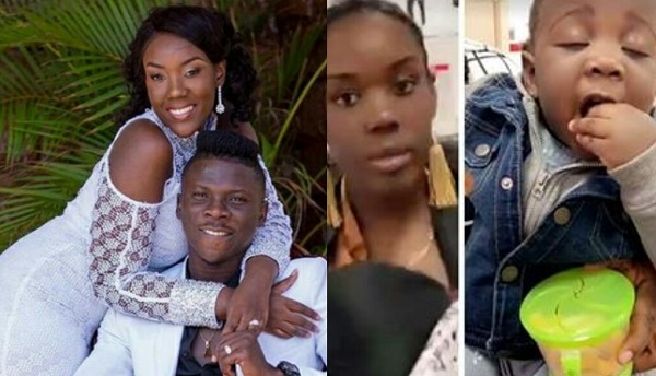 Stonebwoy Enjoys Holidays With Wife Louisa And Daughter In America