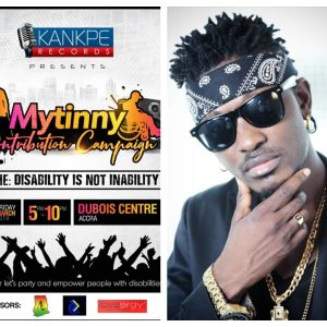 Tinny To Put Smiles On The Face Of People With Disability On March 22 At Dubois Centre In Accra