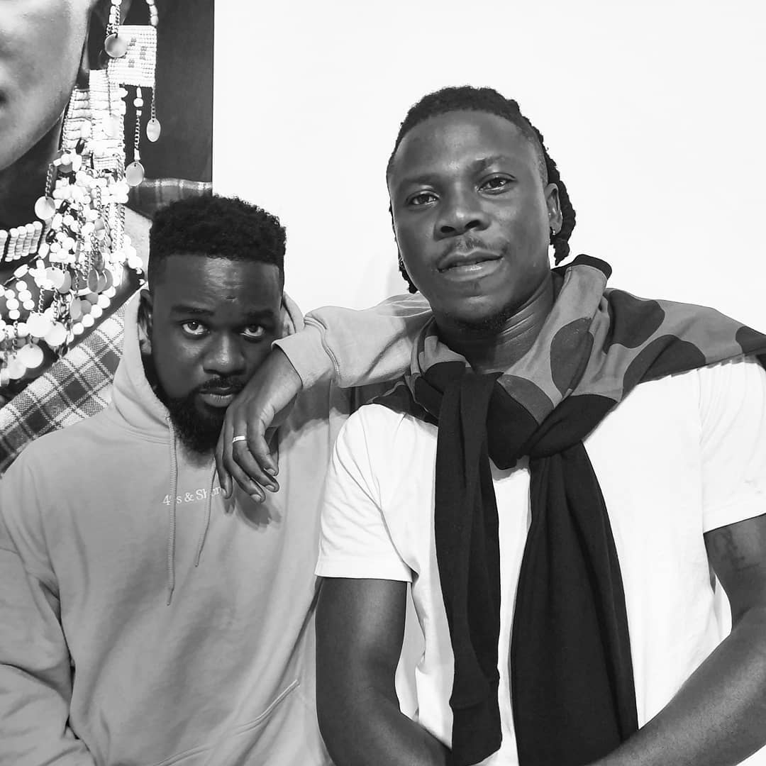 Stonebwoy hints about a possible banger with sarkodie