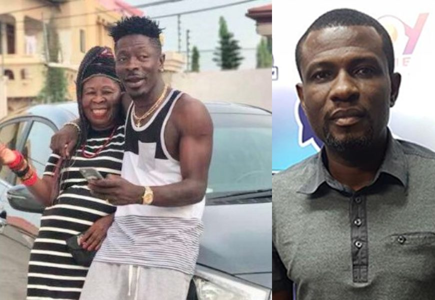 Mark Okraku-Mantey just hates me; I took Shatta Wale to his house for him to pay money he owed my son, and he paid, does it mean i spoilt my son because of that? Wale's mum