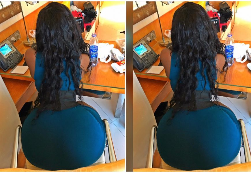 Photos: Here's Sanchoka, The Model With The Biggest Backside In Africa