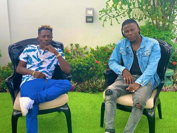 SCREENSHOTS: Shatta Wale & Stonebwoy Congratulate Burna Boy After Winning BET Award