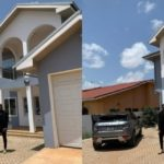 Photo: Medikal Poses In Front Of His New Mansion To Remind Y'all That He's In The AMG Business