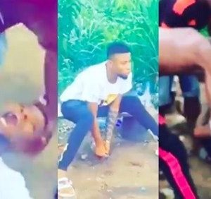 VIDEO: Young Guy Goes Mad After Taking 'Synthetic' Weed
