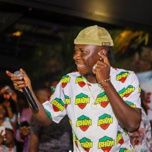 'We Always Have To Keep Pushing Because Most People Look Up To Us' – Stonebwoy Inspires
