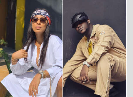 Medikal angry at Nikki Samonas for mocking him over his beef with Strongman; threatens to open keys.