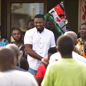 John Dumelo Promises His Constituents Jobs If He Wins Parliamentary Seat