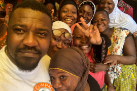 John Dumelo empowering the youth