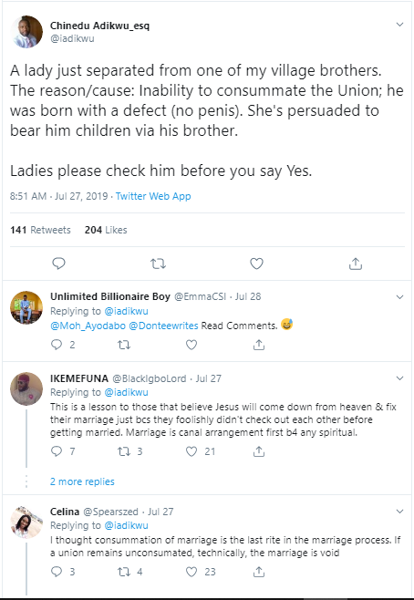 Young Lady Realizes Her Man Has No MANHOOD After Marriage 2