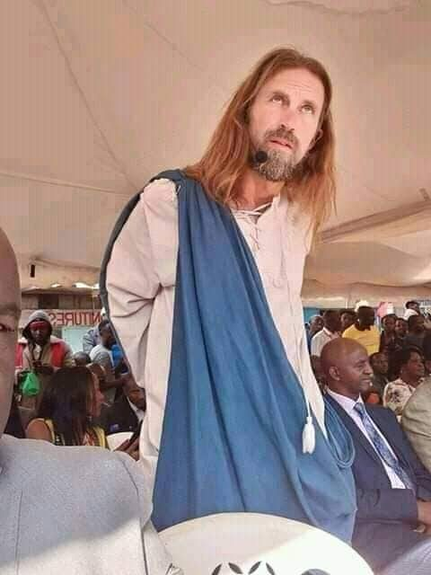 Just IN: Kenyan 'Jesus Christ' And Two Pastors Who Invited Him From 'Heaven' Invited By Police